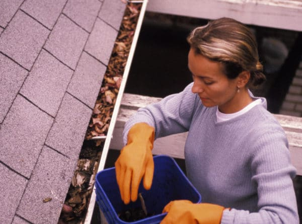 best time of year to clean gutters