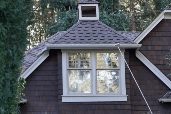 shoreline roof gutter cleaning
