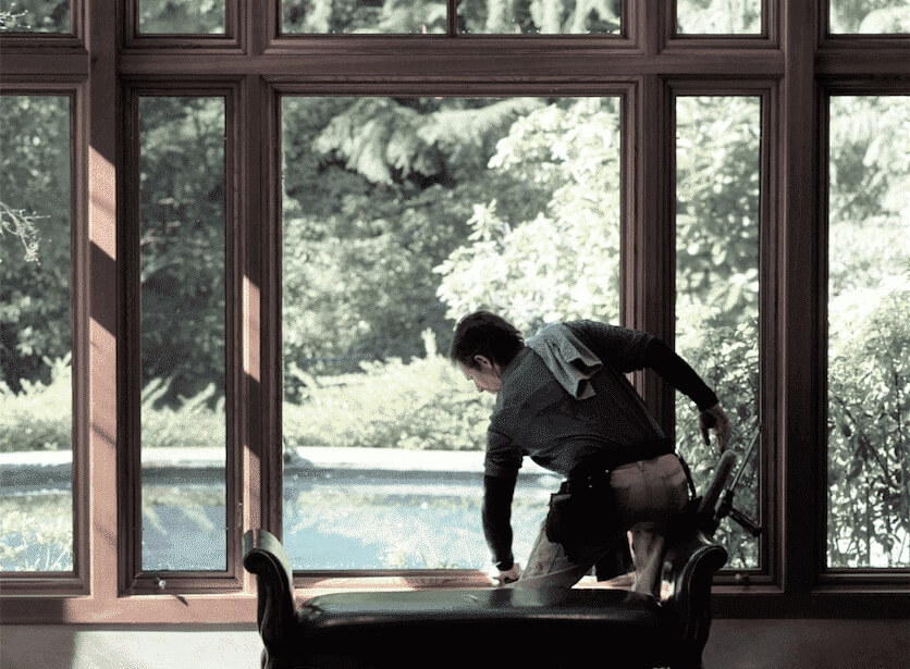 cleaning double paned windows